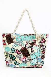 Пляжная сумка Фаафу бирюзовые