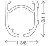 Карниз для римского механизма (профиль), фото 2