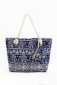 Пляжная сумка Фаафу синяя