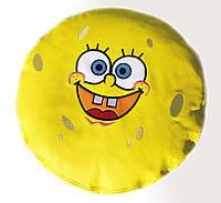 Бескаркасный Пуф детский таблетка с вышивкой