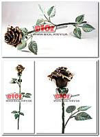 Роза кованная 61см сувенирная