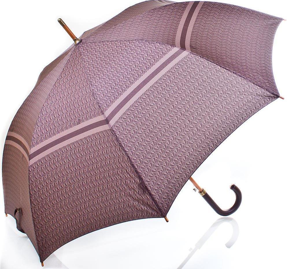 Зонт-трость полуавтомат ZEST Z41652-11, большой купол