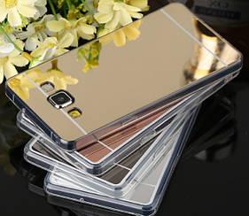 Силиконовый зеркальный чехол для Samsung Galaxy J3 J300 / J3 2016 J320