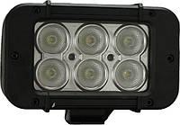 """XIL-P 610 A/Светодиодная панель 5"""" PRIME LED BAR BLACK 6 светодиодов 3 watt 10* направленный свет"""