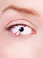 """Декоративные линзы склеры """"Кровяной глаз"""""""