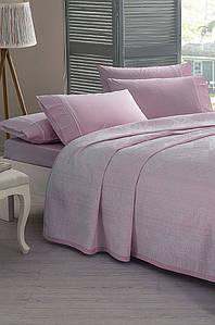 Постельное белье TacJakar Pike Benicia pembe розовый евро размера