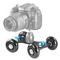 DSLR грузовик, тележка для камеры, тележка долли, Skater Dolly, Dolly car, скейт для камеры., фото 1