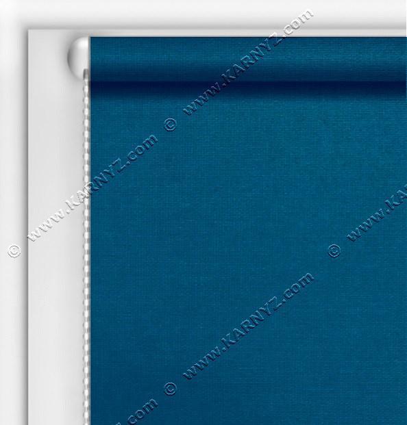 Рулонные шторы Блэкаут Студио синий C-417
