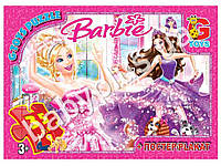 Пазлы картонные, 35 эл. формат А4 Barbie