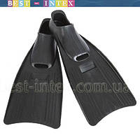 Intex 55934 (размер 37х40) ЧЁРНЫЙ ЦВЕТ!!! Детские ласты для дайвинга Спорт