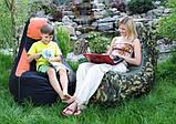 Кресло мешок для сада КОМФОРТ бескаркасная мебель, фото 4