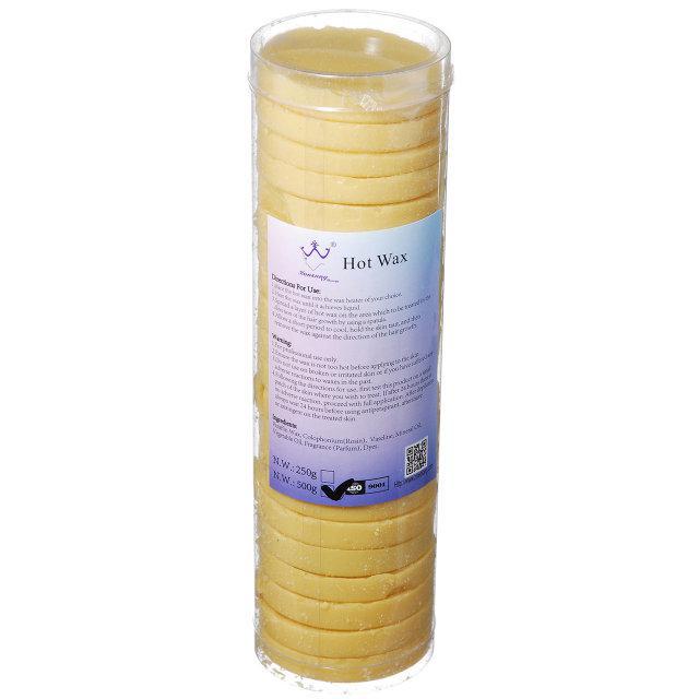 Воск для депиляции в таблетках Hot Wax, 500 г Желтый