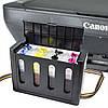 Полное решение: МФУ CANON E414 + СНПЧ Черный Печать фото текста студия принтер сканер копир подарки фотобумага, фото 2