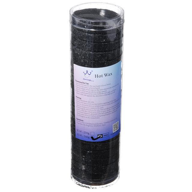 Воск для депиляции в таблетках Hot Wax, 500 г Черный