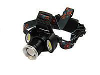 Фонарик налобный фонарь Police BL-865 T6 COB