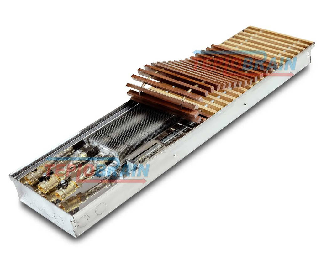 Внутрипольный конвектор с вентилятором TeploBrain Т300