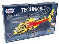 Конструктор Вертолет, 53см, 1:20см, 660дет, в кор-ке