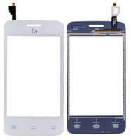 Сенсорний екран для смартфону Fly IQ434 #3.H-1902-CS611A00-N00 тачскрін білий