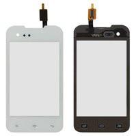 Сенсорний екран для смартфону FLY IQ237 #166100219, тачскрін білий