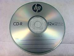 CD-R диски для аудіо Hewlett-Packard Shrink 50