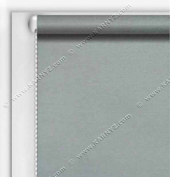 Рулонные шторы Блэкаут Студио серый C-427