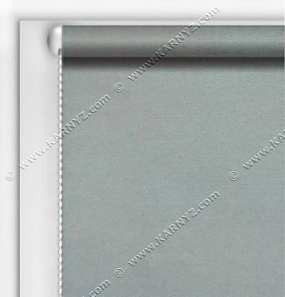 Рулонные шторы Блэкаут Студио серый C-427, фото 2