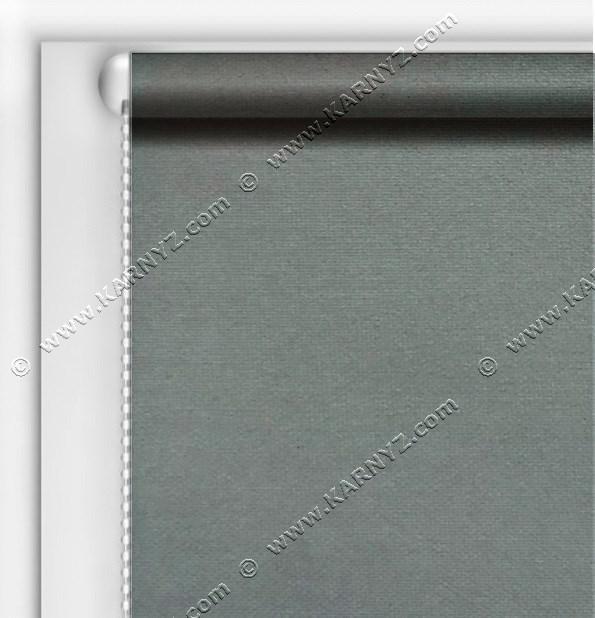 Рулонні штори Блекаут Студіо сірий темний C-424