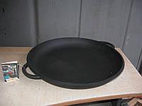 Крышка-сковорода чугунная, эмалированная. Диаметр 400мм.