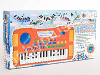 Пианино муз-центр, на бат-ке, в кор-ке