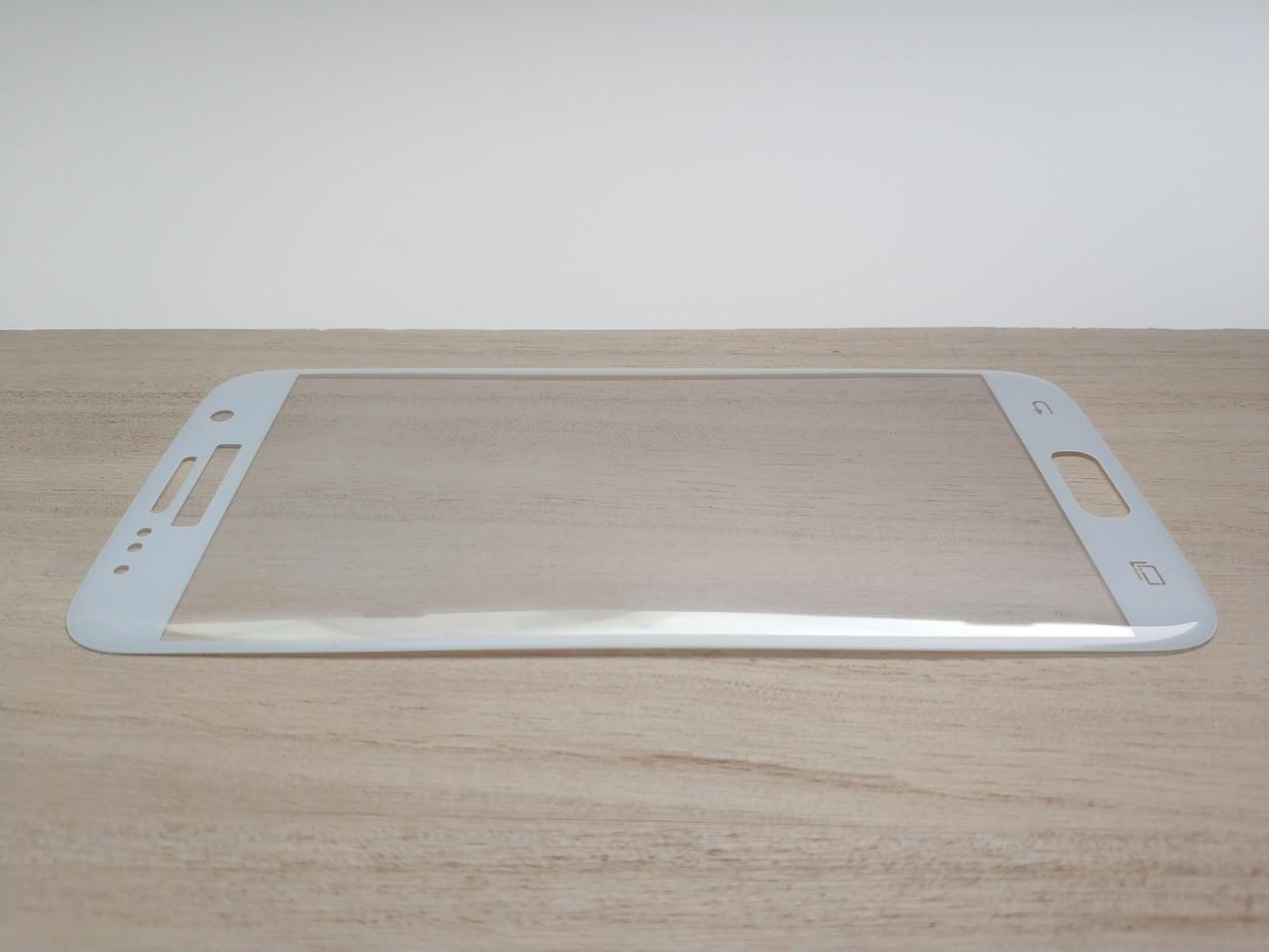 Защитное стекло 3D для SAMSUNG S7 G930 Galaxy S7 белое