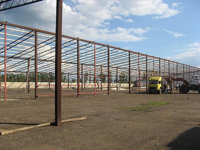 Строительство складов в Днепропетровске