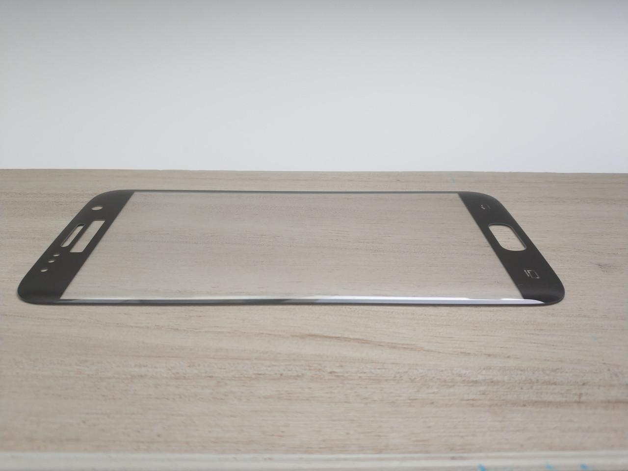 Защитное стекло 3D для SAMSUNG S7 G930 Galaxy S7 чёрное