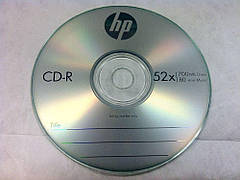 CD-R диски Hewlett-Packard Cake box 10