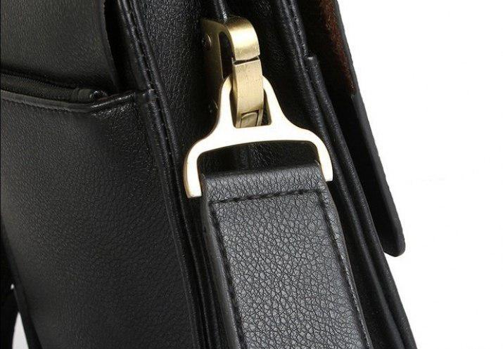 5f72702222cc Мужская сумка через плечо Polo Videng Classic Черная: продажа, цена ...