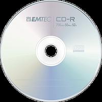 CD-R диски для аудіо Emtec Cake box 50