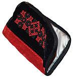 Косметичка с вышивкой, ключница, чехол для телефона, фото 2