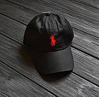 Кепка Ralph Lauren All Black Реплика отличного качества