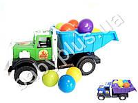 Машинка Фарго двухосный с шариками, в сетке