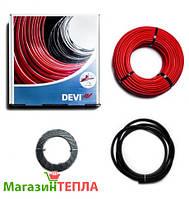 Теплый пол в стяжку DEVIflex 18T (Дания) - двужильный нагревательный кабель 10.0м - 1,2м² (180Вт)