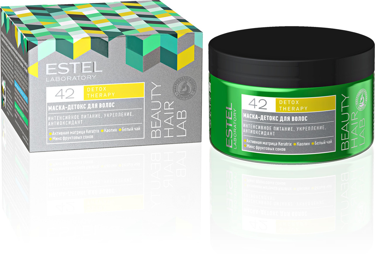 Маска-детокс для волос Estel Beauty Hail Lab