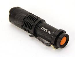 Фонарь  зум CREE LED 500 Lm