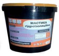 Мастика битумно-резиновая гидроизоляционная 5 кг