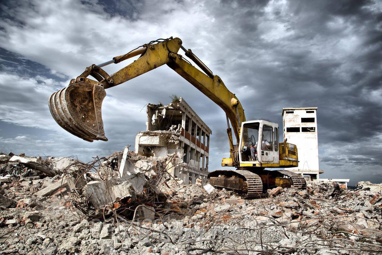 Демонтаж зданий с вывозом мусора, фото 1