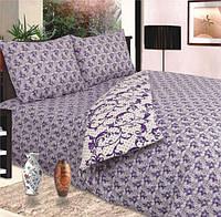 Комплект постельного белья двухспальный пододеяльник-210*175 простынь-220*200 наволочки-70*70 сублимация 071