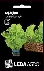 """Семена салата Афицион, 30 сем., тип батавия, ТМ """"ЛедаАгро"""""""