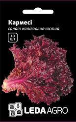 "Семена салата Кармеси, 10 сем.(гранул)., тип лолло россо, ТМ ""ЛедаАгро"""