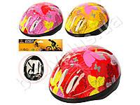 Шлем 24-19-11см, 5 отверстий, регулир.ремешок, 3 цвета, в кульке