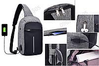 Однолямочный рюкзак bobby mini, однолямочный рюкзак