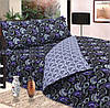 Комплект постельного белья двухспальный пододеяльник 210*175 простынь 220*200 наволочки 70*70 сублимация 075