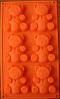 Форма силиконовая Барни 6шт., фото 1